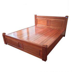 Giường gỗ 1m8 mẫu 1M8-04