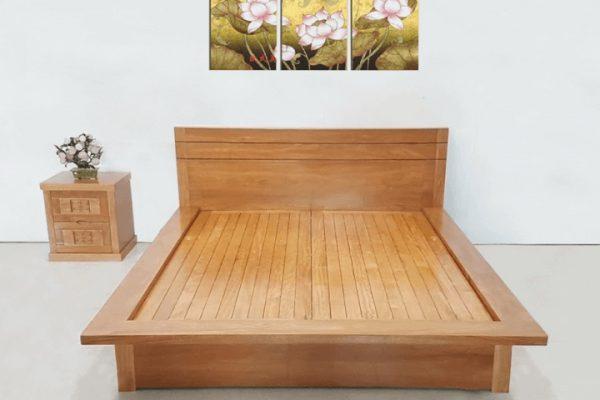 Giường gỗ 1m6 mẫu GA1600X