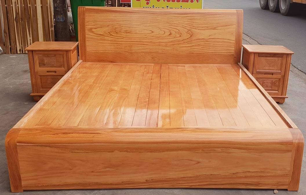 Giường gỗ 1m6 mẫu GA1601X