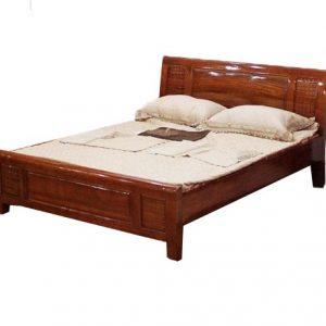 Giường gỗ 1m8x2m - Mẫu 1M8-10