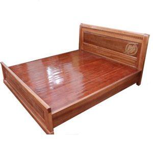 Giường gỗ 1m8x2 - Mẫu 1M8-5