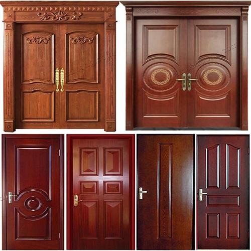 Các loại cửa gỗ tự nhiên thông dụng