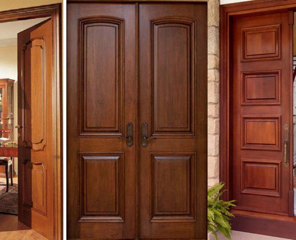 3 lý do nên chọn cửa gỗ căm xe