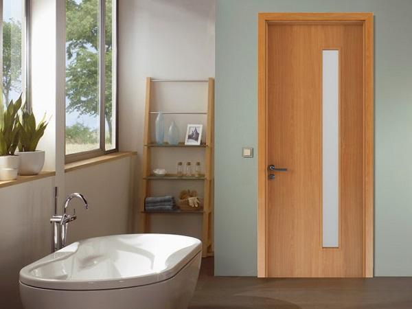 Điều cần lưu ý khi chọn loại vật liệu cho cửa nhà vệ sinh