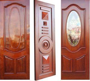 Báo giá cửa gỗ tự nhiên thông phòng 1 cánh, cửa gỗ 4 cánh, 2 cánh