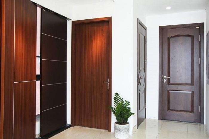 Gỗ làm cửa bền đẹp