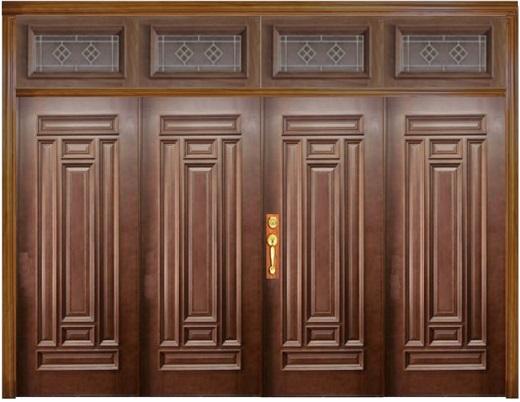 Mẫu cửa gỗ 4 cánh đẹp