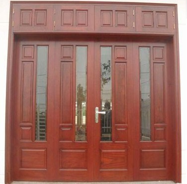Mẫu cửa gỗ 4 cánh