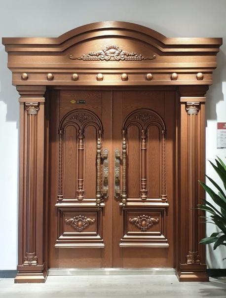 Mẫu cửa gỗ biệt thự đẹp