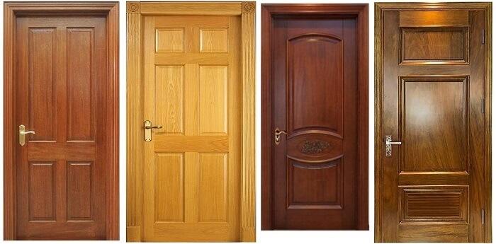 Những mẫu cửa gỗ tự nhiên cao cấp
