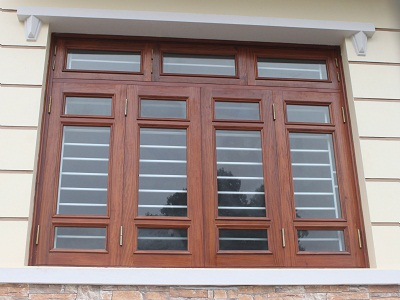 Mẫu cửa sổ gỗ 4 cánh đẹp, hiện đại nhất hiện nay