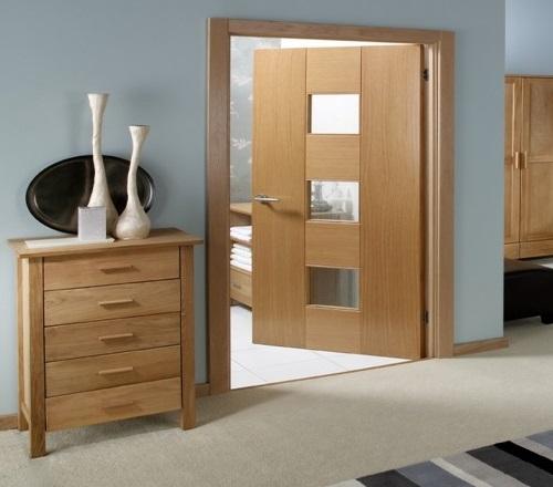 Những điều cần biết về cửa thông phòng bằng gỗ tự nhiên