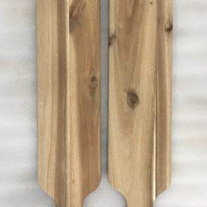Thớt gỗ dài - Mẫu CTR102