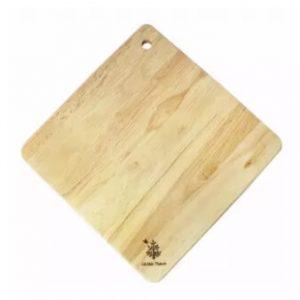 Thớt gỗ hình vuông - Mẫu CTR113