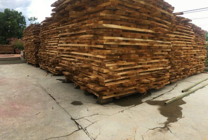 Gỗ được Lac An Craft Wood sử dụng