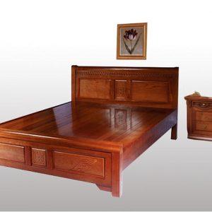 Giường gỗ 2mx2 - Mẫu 2M-1