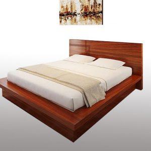 Giường gỗ 2mx2 - Mẫu 2M-5