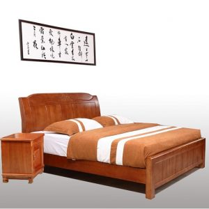 Giường gỗ 2mx2 - Mẫu 2m-6