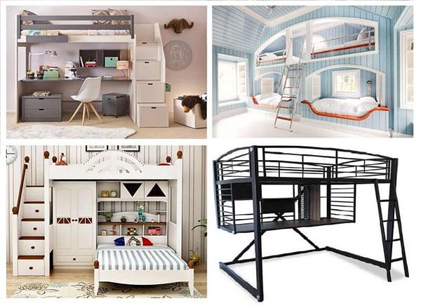 10 mẫu giường tầng hiện đại nhất hiện nay