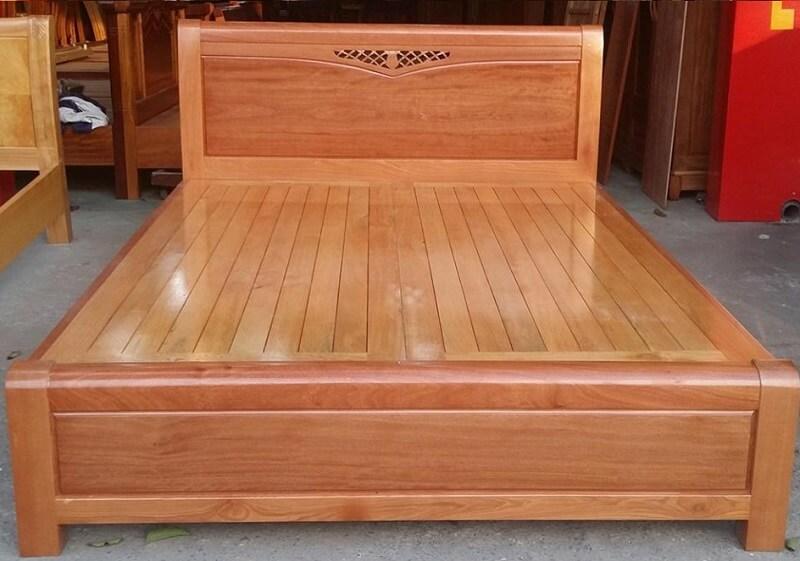 Giường gỗ 1m6 mẫu GA 1605X