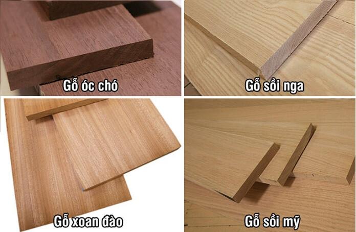 các loại gỗ tự nhiên chịu nước tốt