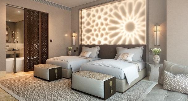 Hướng dẫn cách kê 2 giường trong phòng ngủ đơn giản vừa tiện lợi, vừa hợp phong thủy