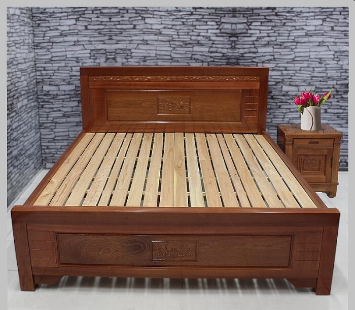 Có nên mua giường gỗ xoan đào hay không?