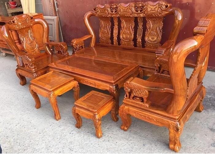 Bộ bàn ghế gỗ lim