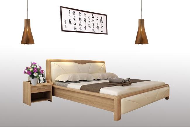 Mẫu giường tầng gỗ sồi có thiết kế an toàn