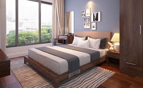 Top 15 các mẫu giường ngủ gỗ sồi Mỹ tự nhiên hiện đại đẹp