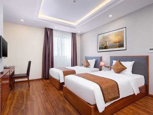 Mẫu giường twin đẹp cho khách sạn