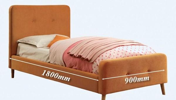 Kích thước giường đơn đúng tiêu chuẩn