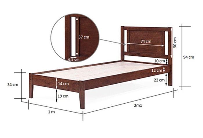 loại giường ngủ có kích thước nhỏ dành cho trẻ em