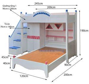 【Tư vấn】Cách chọn kích thước giường tầng trẻ em, người lớn phù hợp