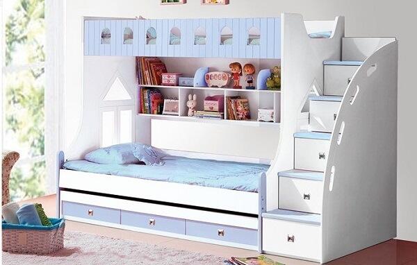 Mẫu giường tầng gỗ công nghiệp