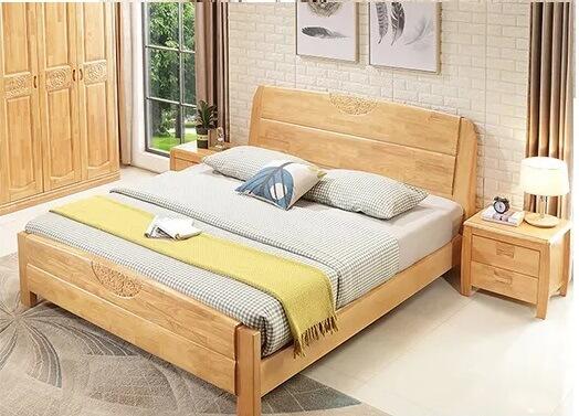 mẫu giường gỗ tầng bì