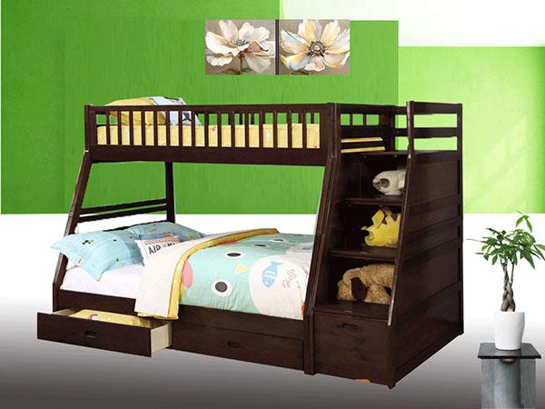 Mẫu giường tầng có ngăn kéo