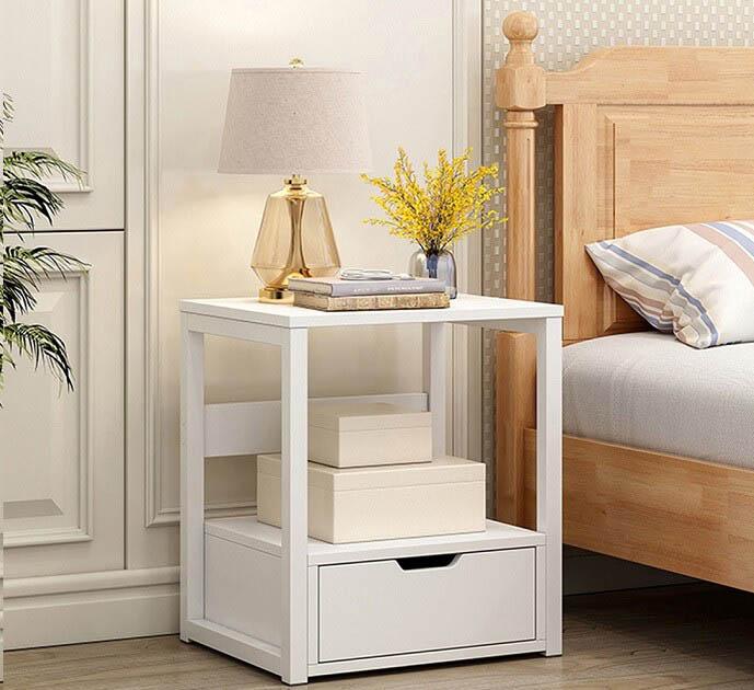 Tap đầu giường là chiếc tủ nhỏ kế bên giường có chức năng đựng đồ rất tiện và an toàn, mẫu mã và thiết kế đa dạng, phù hợp với nhiều thiết kế nội thất