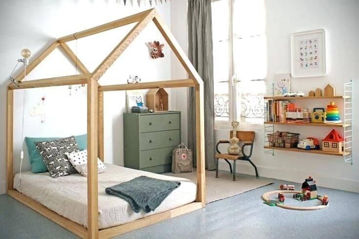 Phòng không cần giường cho bé an toàn