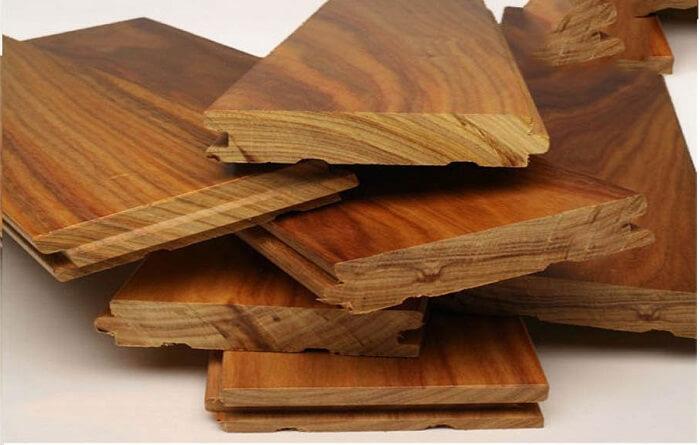 ván gỗ gõ đỏ