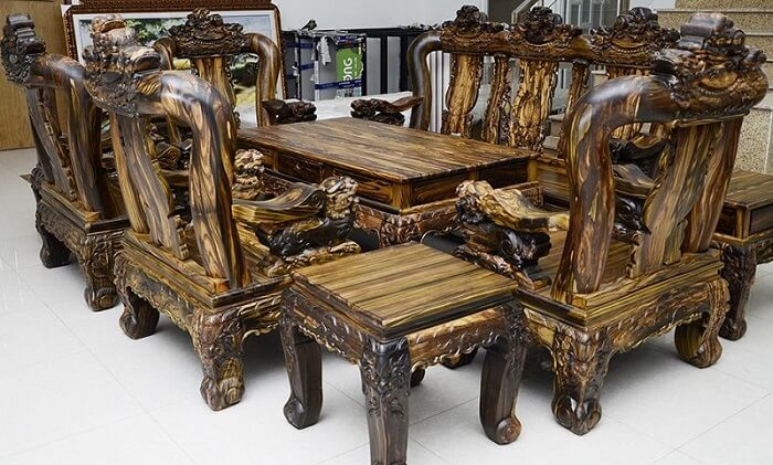 những loại gỗ quý của Việt Nam