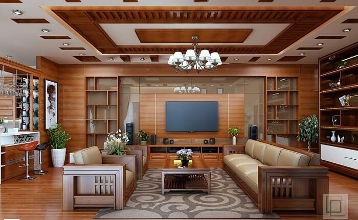 Các loại gỗ tự nhiên dùng trong nội thất phổ biến