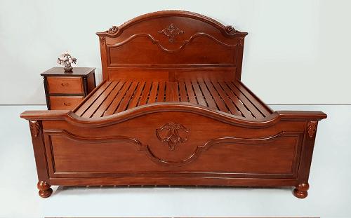 Giường gỗ cẩm lai