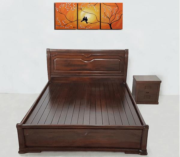 Giường ngủ gỗ muồng