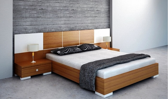 Giường gỗ nghiến