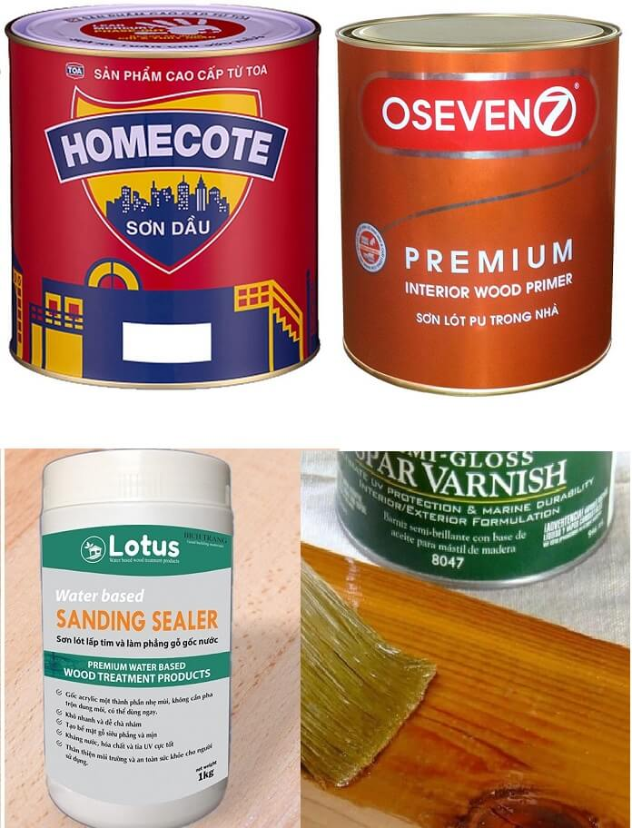 loại sơn gỗ nên dùng