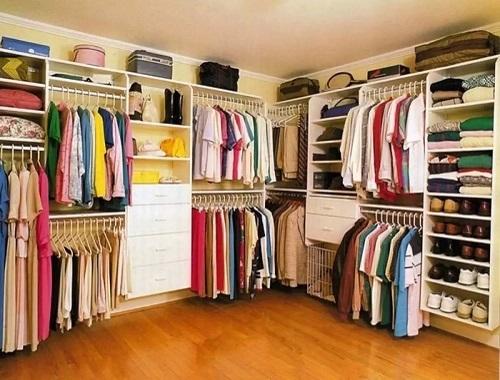 Sắp xếp tủ quần áo một cách khoa học