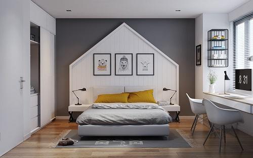 Một trong những cách sắp xếp phòng ngủ gọn gàng là tối giản các đồ đạc trang trí
