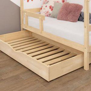 Giường gỗ 1m2 có ngăn kéo dành cho trẻ em
