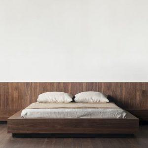 Giường gỗ 2m2